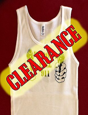 """Hells Angels Arizona Nomads Official Support Gear Women Tank Top """"No 911"""" White"""