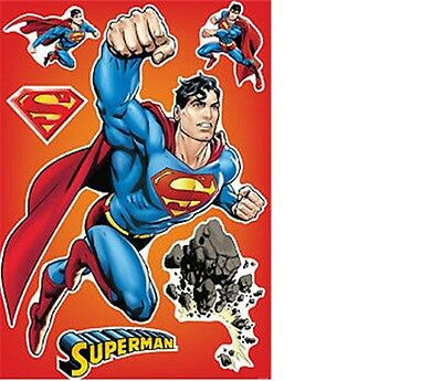Superman -- 50x70cm Wall Decal Sticker Removable Party Decoration