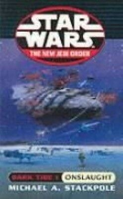 Star Wars: Dark Tide - Onslaught by Michael A. Stackpole Paperback Book