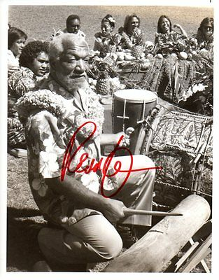 REDD FOXX as Fred  in SANFORD & SON: Photo Autographed by Deceased Star