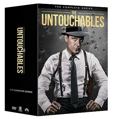 THE UNTOUCHABLES 1-4 (1959-1963): COMPLETE TV Season Series -  NEW R1 DVD