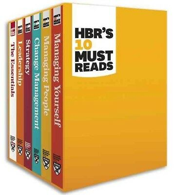 HBR's 10 Must Reads by Harvard Business Review Boxed Set Book (English)