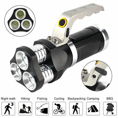 Scuba 9000Lm XM-L2 LED Diving Flashlight Waterproof Torch + 2X18650+Charger Kit
