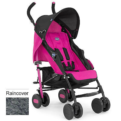 Chicco Echo Pushchair Stroller Ibiza With Raincover