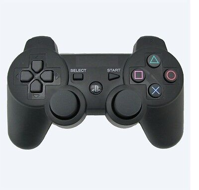 Black COLOUR DUALSHOCK 3 BLUETOOTH WIRELESS PS3 PLAYSTATION CONTROLLER