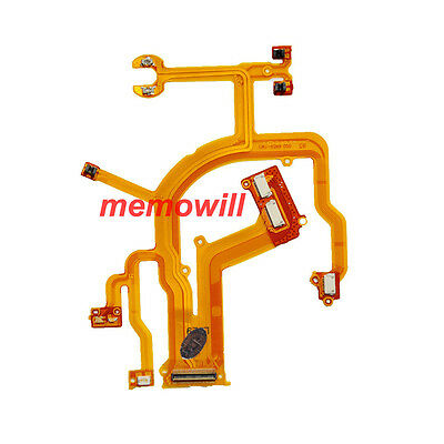 New Len Back Main Flex Cable Ribbon FPC For Canon G10 G11 G12 Camer with connect
