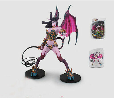"WOW World of Warcraft Series 4 Amberlash (Succubus Demon) 7""Toy action Figure"