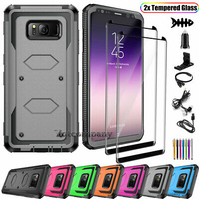 Samsung GALAXY S8 / S7 Edge Hybrid Rugged Shockproof Hard Protective Case Cover