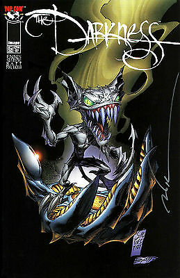 The Darkness #5 Signed By Artist Marc Silvestri (Lg)