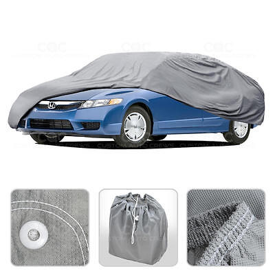 Car Cover for Honda Civic 06-14 Outdoor Breathable Sun Dust Proof Protection