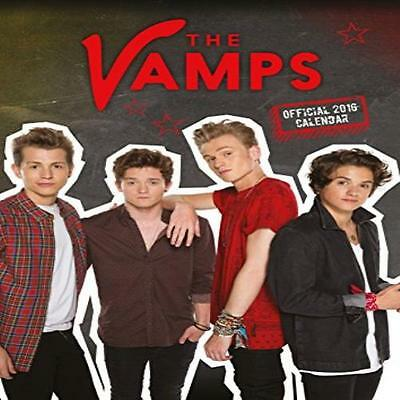 The Vamps 2016 Official A3 Wall Calendar New