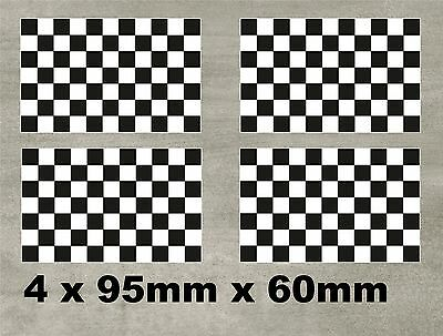 Rally, Racing, Motorsport,Chequered Flag Car Decal Sticker