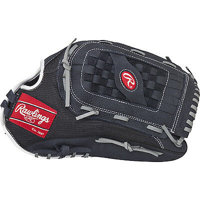 "Rawlings Renegade baseball glove 15"" outfield softball leather RHT slowpitch new"
