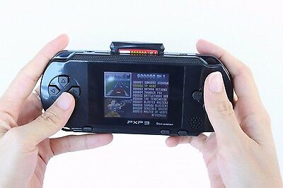 New PXP 3 Portable Video Game Player Bundle 16 Bit 150+ Games handhold gift