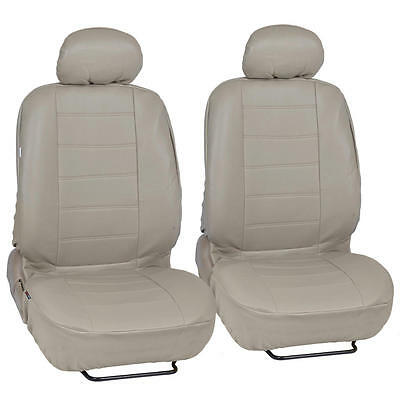ProSynthetic Beige Leather Auto Seat Covers for Honda Accord Sedan, Coupe