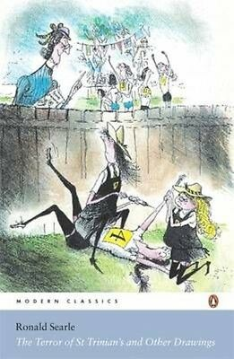 The Terror of St Trinian's and Other Drawings by Ronald Searle Paperback Book