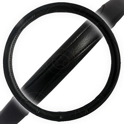 Sport Grip Steering Wheel Cover for Car SUV Truck Black Large Anti Heat Guard