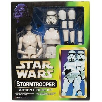 "RARE Tomy Marmit 1/6 Scale Stormtrooper 12"" Action Figure Kit, 1996"