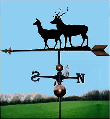 Stag & Hind / Dear Weathervane - Handmade  - Very High Quality