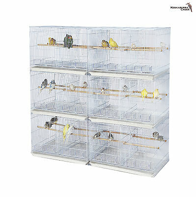 X6 SMALL Double Breeding Cage, Small Bird Cage FOR Finch Canaries, Budgie ECT
