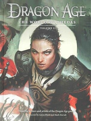 Dragon Age: the World of Thedas Volume 2 by Bioware Hardcover Book (English)