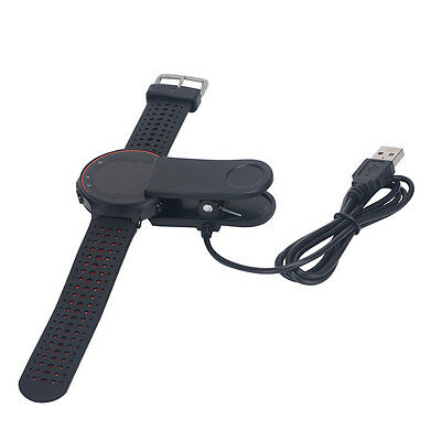 USB Charging Clip Charger Cable for Garmin Watch Forerunner 230 / 235 / 630 New