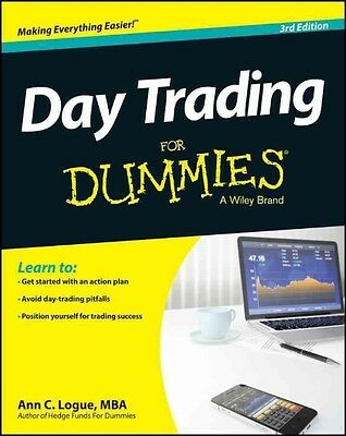 Day Trading for Dummies by Ann C. MBA Logue Paperback Book (English)