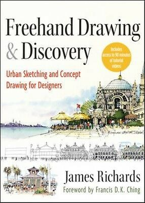 Freehand Drawing and Discovery by James Richards Hardcover Book (English)