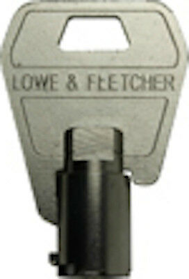 LOWE & FLETCHER Tubular Keys Made To Code Number-Vending,Garage & Cam Locks-L&F