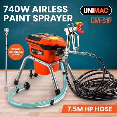 NEW UNIMAC Airless Paint Sprayer - 740W Electric Spray Station DIY Gun Pressure