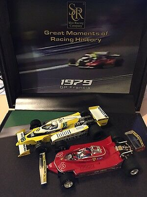 900104 Src 1979 F1 French Gp Limited Edition Twin Set Box Only 770 Made   1:32