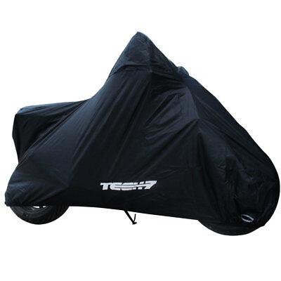 Tech7 Shadow Winter Waterproof Rain Cover Motorcycle Scooter Black Extra Large