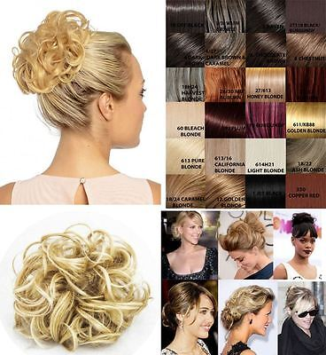 New Womens Celebrity Curly Volume Messy Hair Scrunchies Quality Koko Uk P4