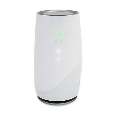 HEPA Air Purifier with Ioniser Removes Hayfever Pollen Allergens Odours