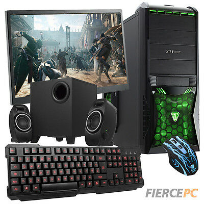 ULTRA FAST QUADCORE Desktop Gaming PC Computer Bundle 4.2GHz 8GB 1TB AMD 193701