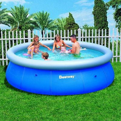 Bestway Bw57273 Superb Quality 12Ft Fast Set Pool No Pump New Tritech Material.