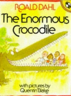 The Enormous Crocodile (Picture Puffin S.) by Dahl, Roald Paperback Book The