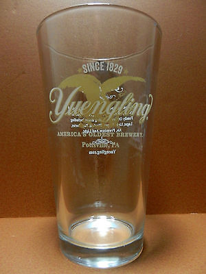 Yuengling Brewery Pint Beer Glass Pottsville Pennslyvania Brewery Since 1829