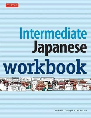 Intermediate Japanese Workbook by Michael L. Kluemper Paperback Book (English)