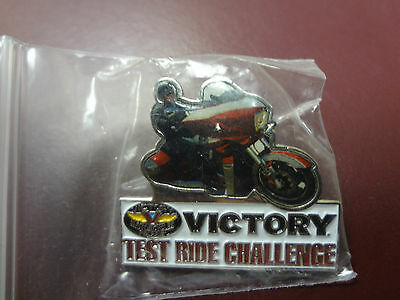 "Victory Motorcycle ""test Ride Challange"" Pin"