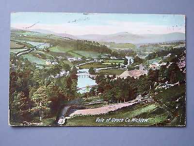 R&L Postcard:  Vale of Ovoca County Wicklow, Lawrence 1915