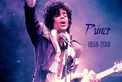 PRINCE rest in peace fridge magnet - new!