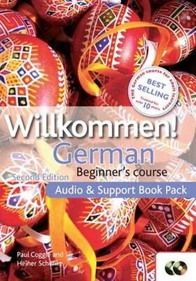 Willkommen Audio and Support Book Pack by Paul Coggle (English)