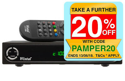 Wintal HD TV tuner digital set top box HDMI RCA w/Multimedia USB Playback/Player