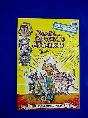Joel Beck's Comics & Stories: underground  comic 1977.  VFN+