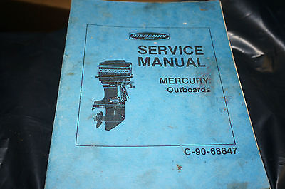Mercury Outboards Service Manual 1973 ? C-90-68647