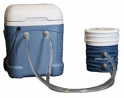 Powerblanket ICE 5-Gallon Bucket Cooling Fluid Channel Blanket w/Cooler & Pump