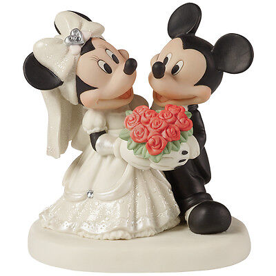 NEW Precious Moments Mickey And Minnie You Are My Fairy Tale Porcelain Figure