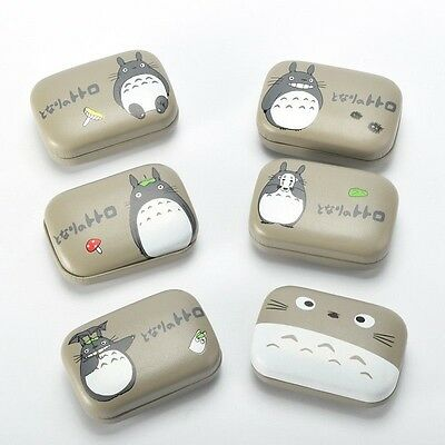 1pc Totoro Contact Lenses Portable Cases Boxes Japanese Anime My Neighbot Totoro
