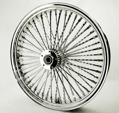 Fat Daddy 52 Mammoth Diamond Cut Spoke 21 X 3.5 Front Rim 84-1999 Harley Touring